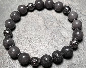 jade bracelet / jade diffuser bracelet / essential oil diffuser bracelet / aromatherapy bracelet