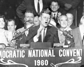 John F. Kennedy at the 1960 Democratic National Convention