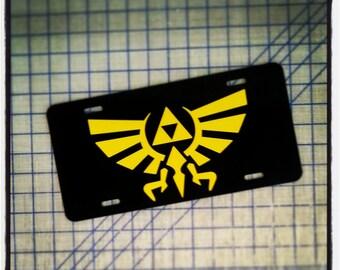 Legend of Zelda - Triforce License Plate