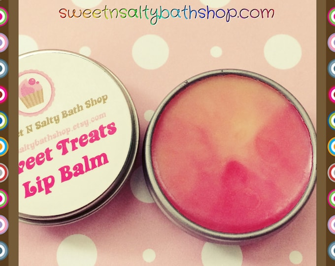 Banana Split Sweet Treats Scented Lip Balm/Cotton Candy/Chocolate Cake/Root Beer Float and More!