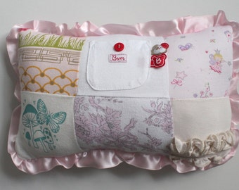 Custom Tooth Fairy Pillow - Made to Order from YOUR Clothes - Keepsake