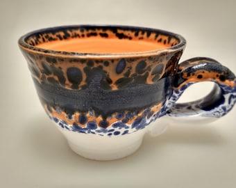 Ceramic cup. Handmade.