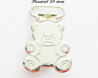 10 / 20 / 30 / 40 / 50 clips metal Teddy bear, pacifier pacifier blanket from 20 & 25 mm