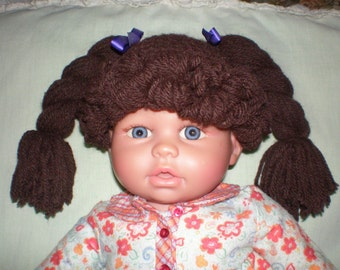 Cabbage Patch Hat / Wig, Any Size Newborn to Adult Available, Fast Shipping, Many Colors to Choose from!!  No Waiting List!!!!