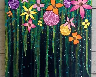 Mystical Flower Falls