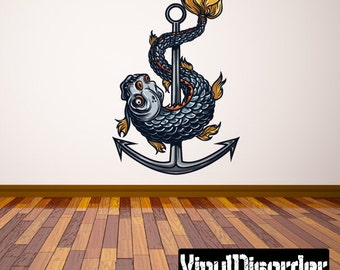 Occult Wall Decal - Wall Fabric - Vinyl Decal - Removable and Reusable - OccultUScolor003ET