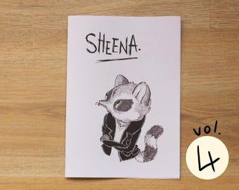 Illustration Zine & Comic: Sheena Vol. 4