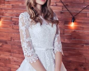 wedding dress Sleeves , Kami wedding dress, ball gown dress