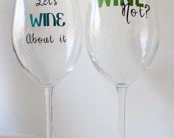 More Funny Wine Glasses