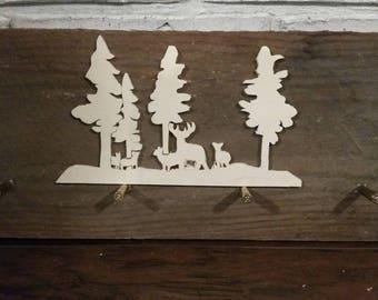 Deer hat rack