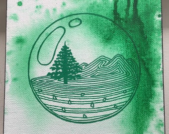 Green Forest Orb Mini