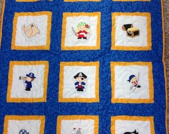 Pirates Baby Quilt