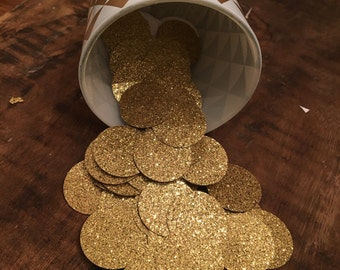 Table Confetti, Gold Birthday Decorations, Gold Glitter Confetti, Gold Baby Shower Decoration, Gold Party Decor, Gold Party Supplies 150ct