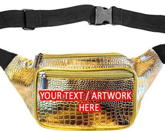 Fanny Packs PERSONALIZED / CUSTOMIZED & FREE shipping by SoJourner Bags