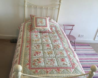 Bespoke Quilts ~ Flower Fairy bedding, Beatrix Potter bedding, Cushions, Curtains, Memory Quilts and much more!
