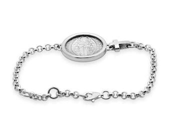 Sterling Silver Venetian Ducat Bracelet