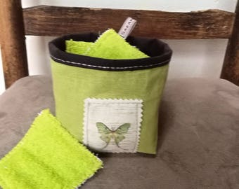 Pouch and its Remover cotton eco-friendly