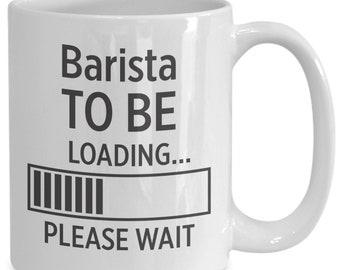Barista to be coffee mug   gift for barista   barista   barista gift   barista art   barista gifts   barista print   barista for him