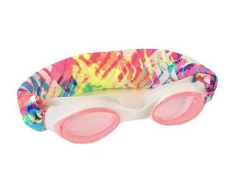 Rainbow Kids and Adults Splash Swim Goggles