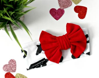 X&O Headband - Bow Headband - Big Bow - Petite Bow - Baby Child Adult - Buy One Give One