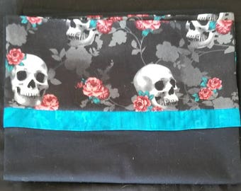 Skull pillow cases set of 2. Perfect gift!!