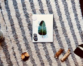 A big leaf