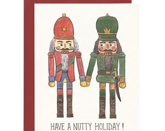 Nutty Holiday Card