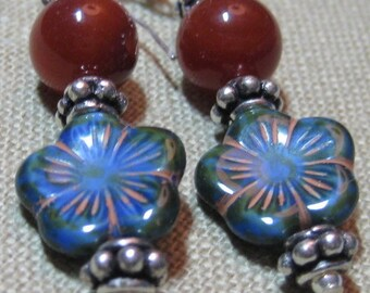 Free Shipping in US with Purchase of Matching Bracelet - Southwest Twilight Earrings - E782