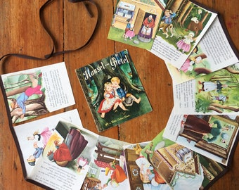 little golden book bunting - hansel and gretel - soft cover