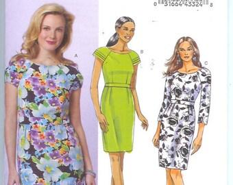 Butterick  Misses  Misses/Petite  DRESS Sewing Pattern  B5453 Size   AA-6-8-10-12  Uncut