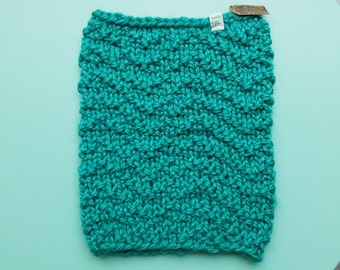 What Goes Up Knit Cowl