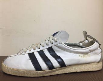 Vintage 60s 70s Adidas Olympiade rare sneakers UK8 dublin koln berlin