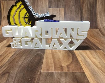 Guardians of the Galaxy Pen/Pencil holder desk organizer - 3D Printed.