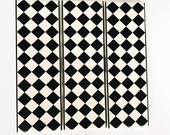 Rectangular Checkerboard Tile