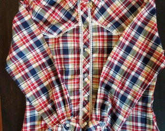 Women's small western button up