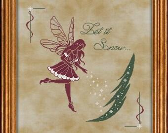Let It Snow - cross stitch chart