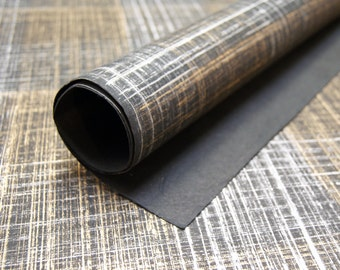 Silver and gold print handmade Wrapping Paper gift wrap set of two large sheets