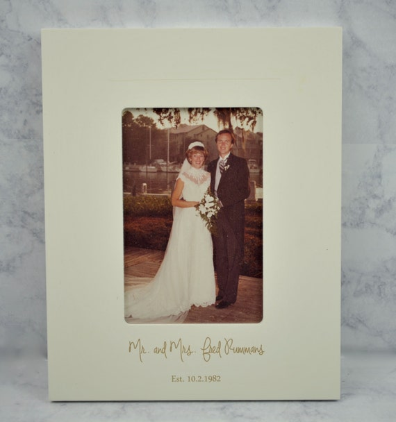 Mother of the Bride, Personalized Gifts, Engraved Picture Frame ...