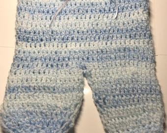 Baby boys crochet trousers