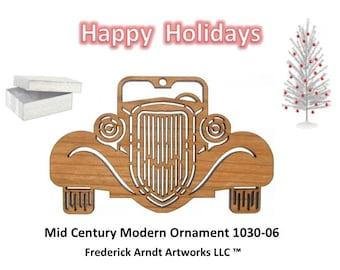 1030-6 Mid Century Modern Christmas Ornament