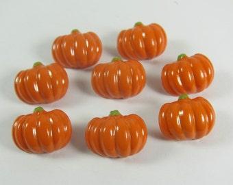 Pumpkin Novelty Buttons