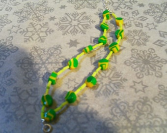 Bracelet yellow and green very stylish and original