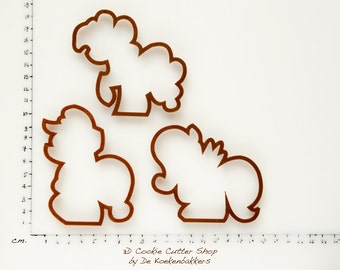 Ponies Cookie Cutter Set (budget cutters)