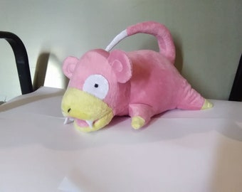 It is a sample of the toy i can make from drawing.  Slowpoke inspired pockemon. Custom made toy.  Please send your picture.