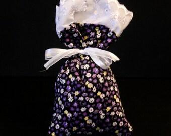 Hand-Made Organic French Lavender Sachet - Flower Field