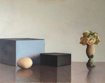 Still Life With Vase and Egg