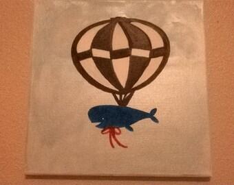 Whale on a Hot Air Baloon