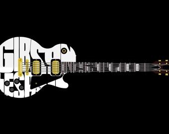 Gibson Les Paul Studio Typographical Guitar