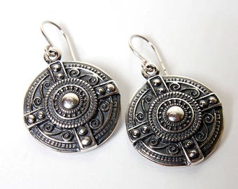 "Vintage Silver 925 Earrigs ""Dawn by the Thames"""