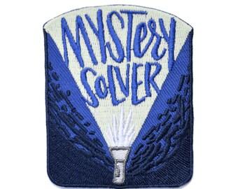 Mystery Solver Flashlight Patch (Glow in the dark!)